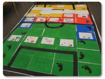 ...WS-Spielfeld als Fußballfeld